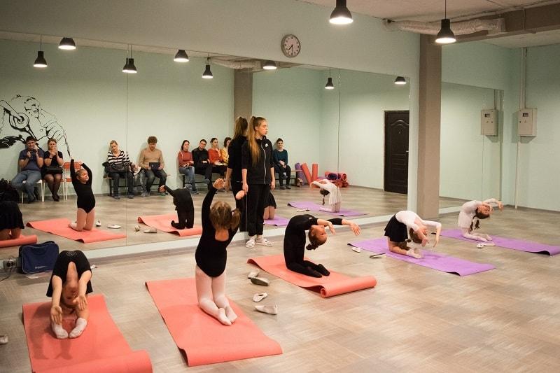 Открытый урок по художественной гимнастике в Школе GymBalance